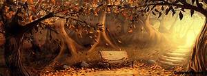Autumn Bench Facebook Covers, Autumn Bench FB Covers ...