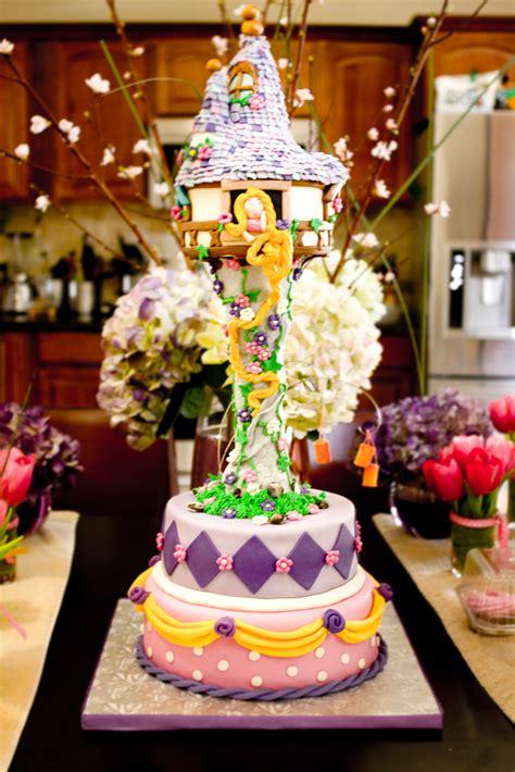 karas party ideas tangled rapunzel theme  birthday