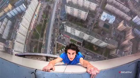 Russia's Spiderman: Guy Hangs Off Tall Buildings Without