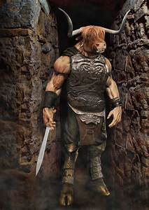 Photoshop Submission for 'H5H: Myth Creatures: Minotaur ...
