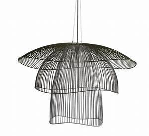 Amazon Luminaire Suspension : suspension papillon gm noir 100cm forestier luminaires nedgis ~ Teatrodelosmanantiales.com Idées de Décoration