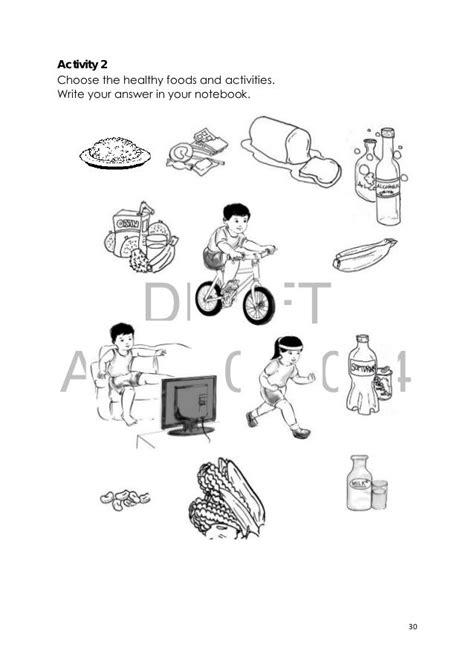 health habits worksheet grade 1 google search science