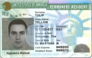 Ins Permanent Resident Card