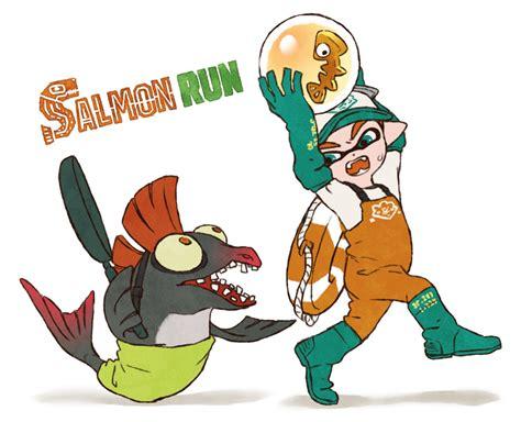 Splatoon 2 Salmon Run Splatoon 2 Art Splatoon Comics