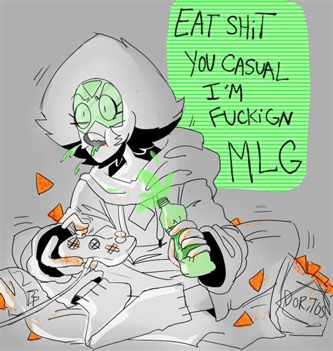 Steven Universe Peridot Memes - mlg peridot steven universe know your meme