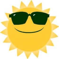 Cool Sun Clip Art