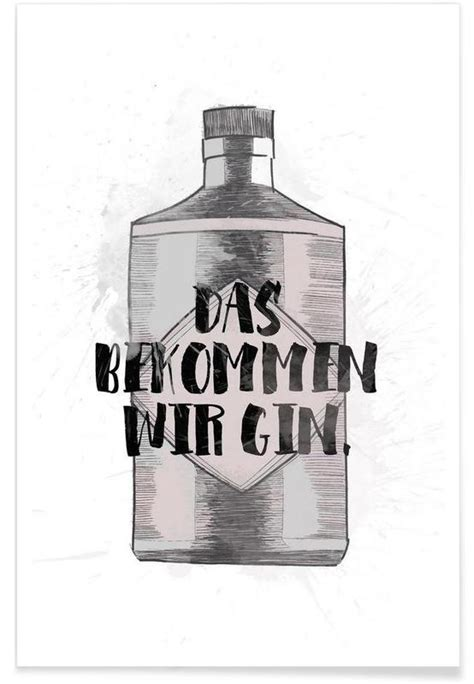 gin tonic bilder gin als premium poster kruth design juniqe