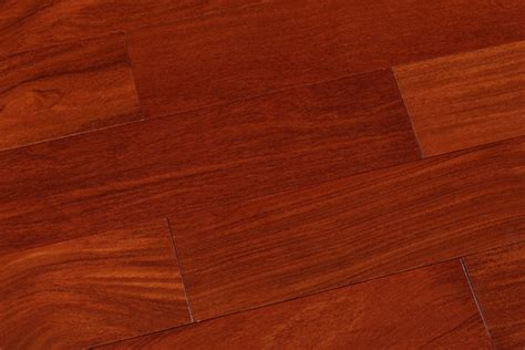 reddish mahogany color stained cumaru hardwood floors