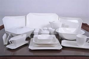 Kombiservice 12 Personen Weiß : schillerbach tafelservice weiss 12 personen porzellan ~ Whattoseeinmadrid.com Haus und Dekorationen