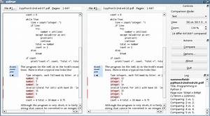 how to compare the differences between two pdf files on With compare documents for differences