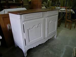Quel artisan peint patine ceruse relooke les meubles for Deco cuisine avec meuble blanc ceruse salle a manger