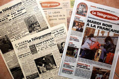 """foto de Abonnement gratuit au journal """"Le Télégramme"""" Centerblog"""