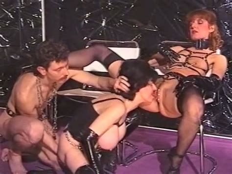 Busty Milf Whores And One Dude In The Bdsm Sex Threesome