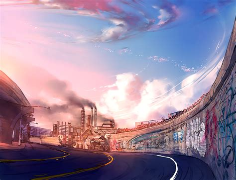 Artwork Background by Fisheye Placebo Background Concept Art By Yuumei On