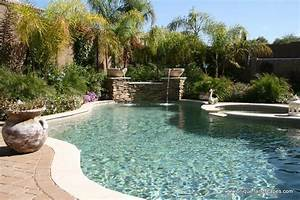 Phoenix freeform lagoon swimming pool spa design photo for Lagoon swimming pool designs