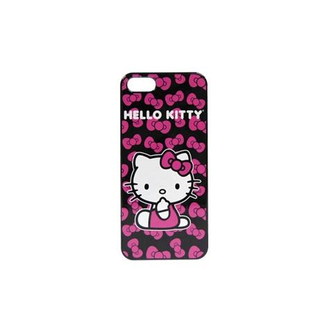 hello kitty iphone 5 hello kitty polycarbonate wrap for iphone 5 techgriffin