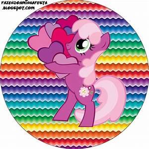 Imprimibles de My Little Pony 3 Ideas y material gratis para fiestas y celebraciones Oh My