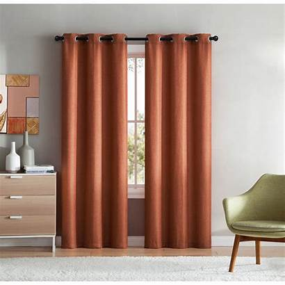 Grommet Mason Window Curtains Multiple Sizes Vcny