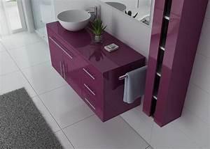 Meuble Simple Vasque : meuble salle de bain ref arezzo au ~ Teatrodelosmanantiales.com Idées de Décoration