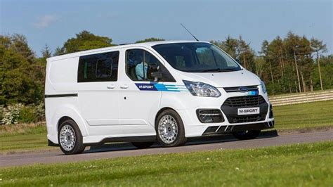 ford transit sport wrc inspired ford transit by m sport revealed