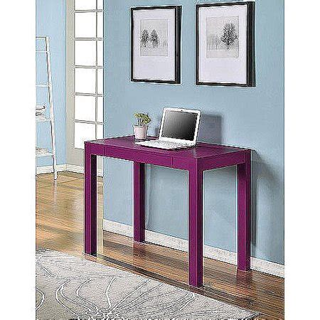 mainstays parsons desk with drawer mainstays parsons desk with drawer pink walmart