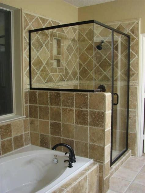 Master Bathroom Ideas Photo Gallery by Our Master Bathroom Shower Looked Like This In Our Nc