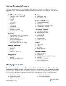 Training Tip: Personal Hygiene | Hygienic food, Importance