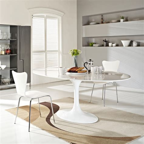 table cuisine moderne design 78 quot eero saarinen style oval tulip dining table in