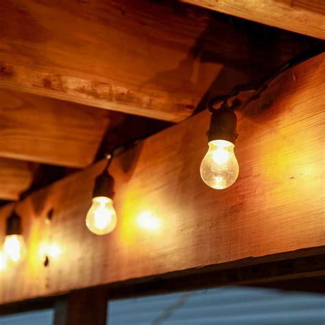 edison bulb string lights indoor heavy duty 15 socket vintage light strand with bulbs