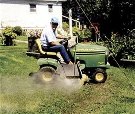 how to clean lawn mower farm show easy way to clean riding mower deck