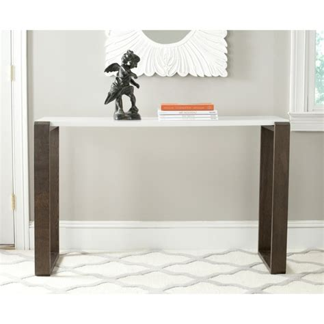 white wood console table white lacquer console table product selections homesfeed