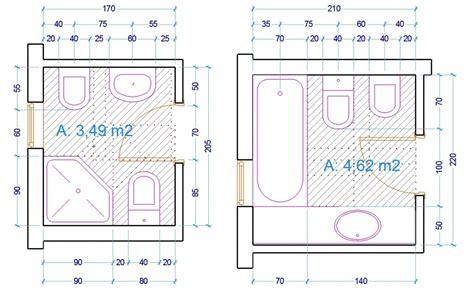 Progetti Bagni Piccole Dimensioni by Le Misure Dell Uomo Nell Abitazione Il Bagno Web Architetto