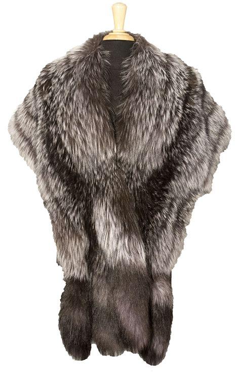 fox stole  tails king fine furs