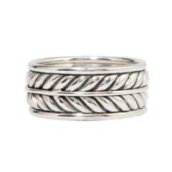 david yurman wedding rings david yurman sterving silver wedding band with leaf motif engagement rings photos brides