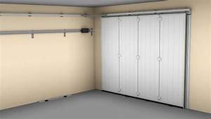 porte de garage enroulable bricoman maison travaux With porte de garage enroulable de plus porte intérieure coulissante
