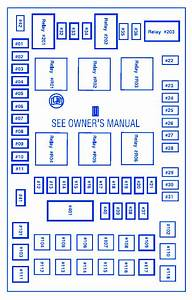 Ford F150 Pickup 4 U00d74 2006 Fuse Box  Block Circuit Breaker Diagram