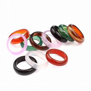 Natural green multicolour ring jewelry semi precious stone for Precious stone wedding rings