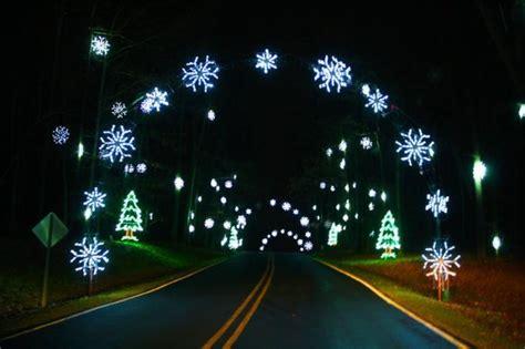 christmas light displays  north carolina