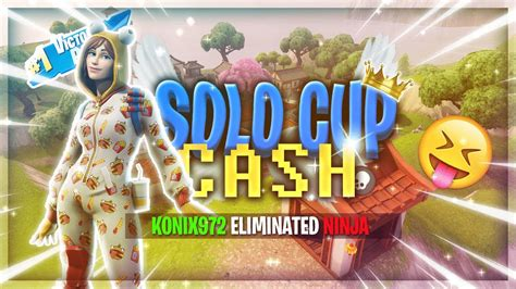 solo cup cash fortnite   youtube
