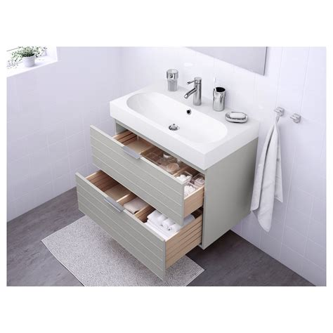 over the sink lighting ikea bråviken godmorgon wash stand with 2 drawers light grey