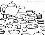 Tea Coloring Party Printable Printables Pages Birthday Parties Coolest Colouring Theme Adults Cups Adult A4 Designs Paper Creative Discover sketch template