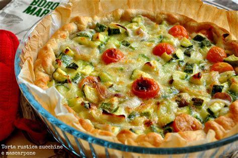 La Cucina Di Zia Ale by La Cucina Di Zia Ale Torta Rustica Zucchine E Mascarpone