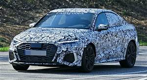 2021 Audi Rs3 Sedan Makes Spy Debut  Could Pack Up To 444