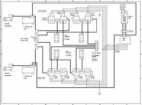 Air Bag Suspension Plumbing Diagram Parts Wiring