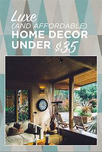 Luxe, And, Affordable, Home, Decor, Under, 35