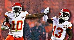 Tyreek Hill, The New Fastest Man In Football, Who The NFL ...