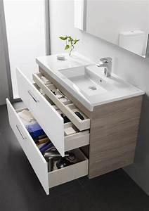 meuble salle bain bois design ikea lapeyre cote maison With petit meuble salle de bain lapeyre