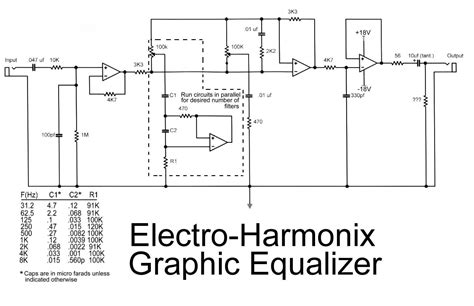 Layout Audio Parametric Equalizer Circuit Diagram Images