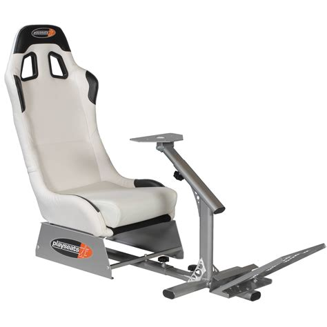playseats evo siège simulation automobile blanc base