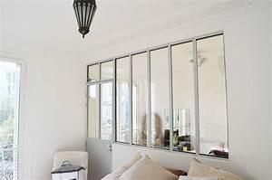 verriere interieure blanche verrieres pinterest With porte d entrée alu avec le bon coin lavabo salle de bain